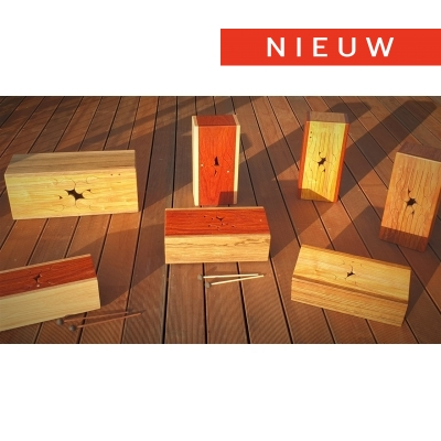 21/11 - Workshop 'Houten tonguedrums' - Torhout